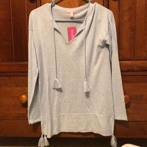 NWT Lilly Pulitzer tassel sweater